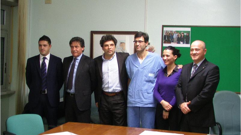 I rappresentanti della Banca Picena Truentina
