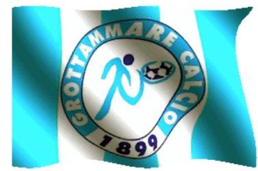 Bandiera animata Grottammare Calcio