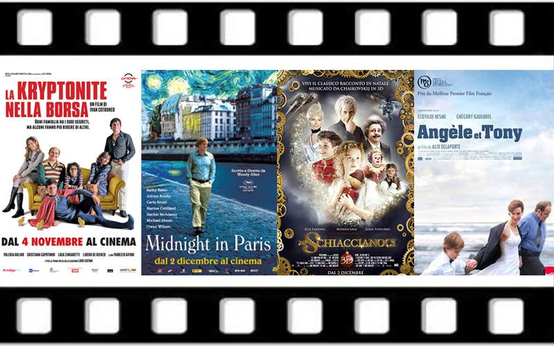 Le locandine dei film in programma