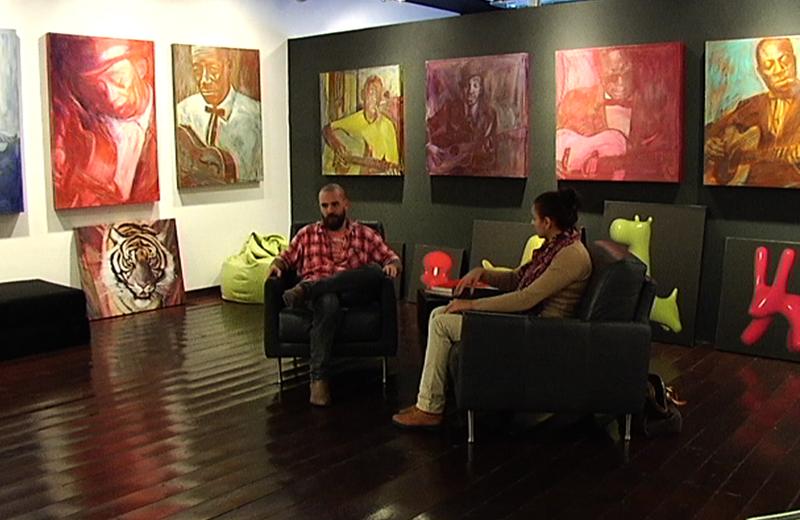 Marco Calcinaro intervistato da Emanuela Voltattorni