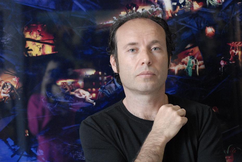 L'artista Paolo Consorti