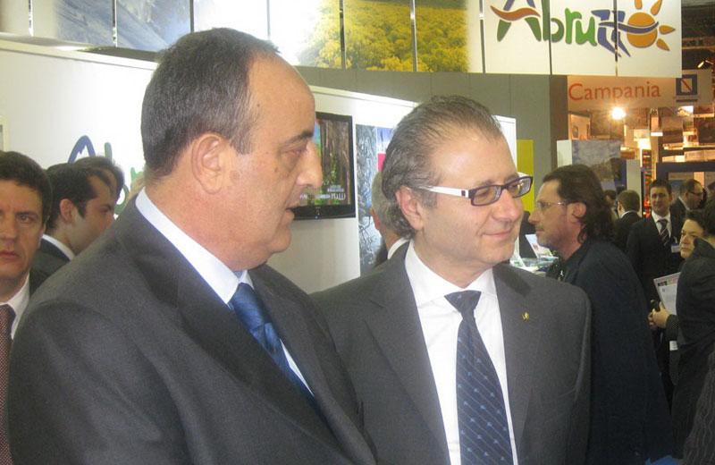 Ezio Vannucci e Valter Catarra