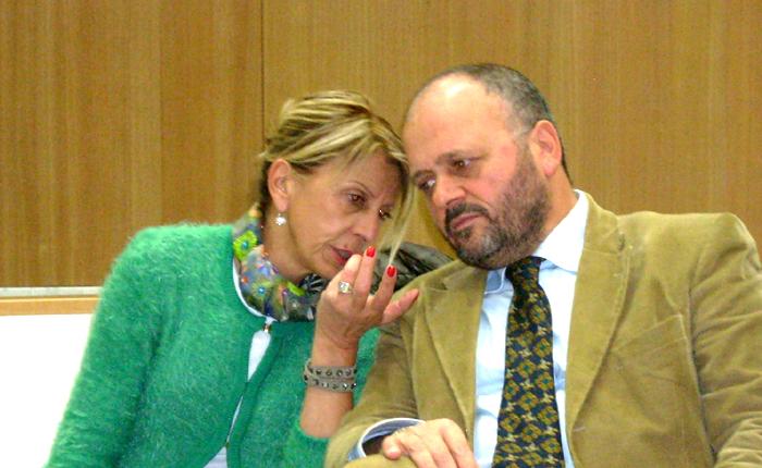 Giovanni Gaspari con Loredana Emili