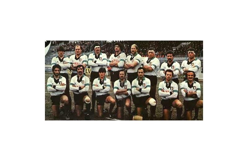 L'Aquila campione d'Italia 1982: Pierluigi Camiscioni è il quinto in piedi da sinistra