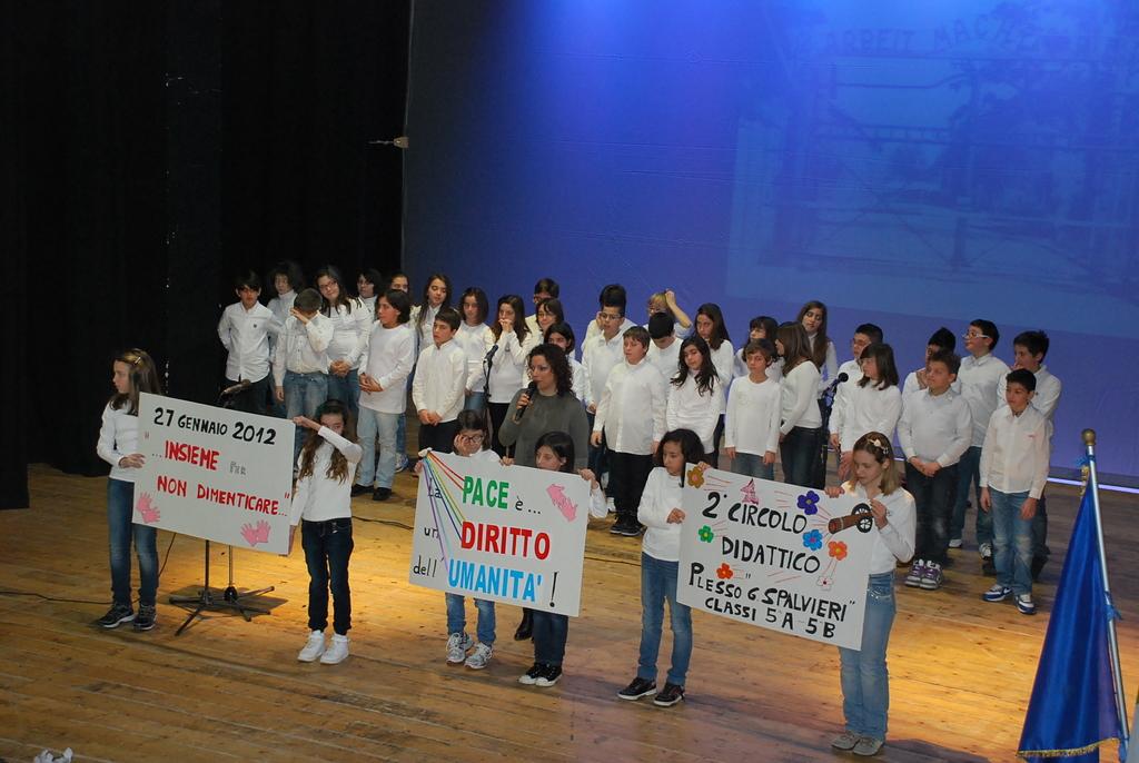 La giornata della memoria celebrata al teatro Concordia