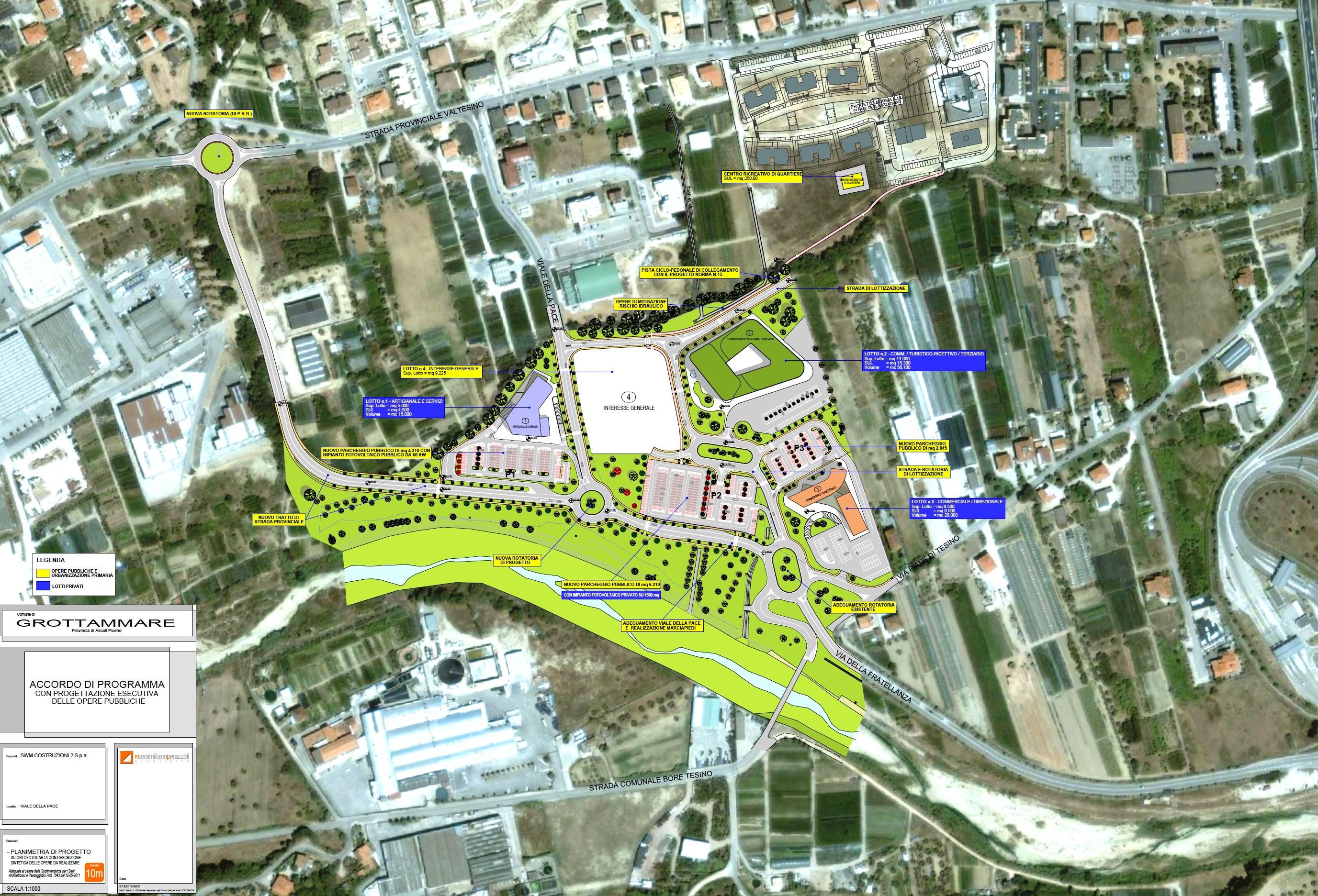 Progetto nuova area Ex Ruffini