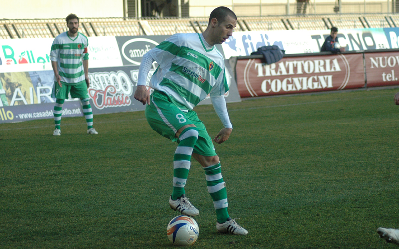Carteri, contro l'Ancona per lui un secondo tempo strepitoso ph. Giammusso