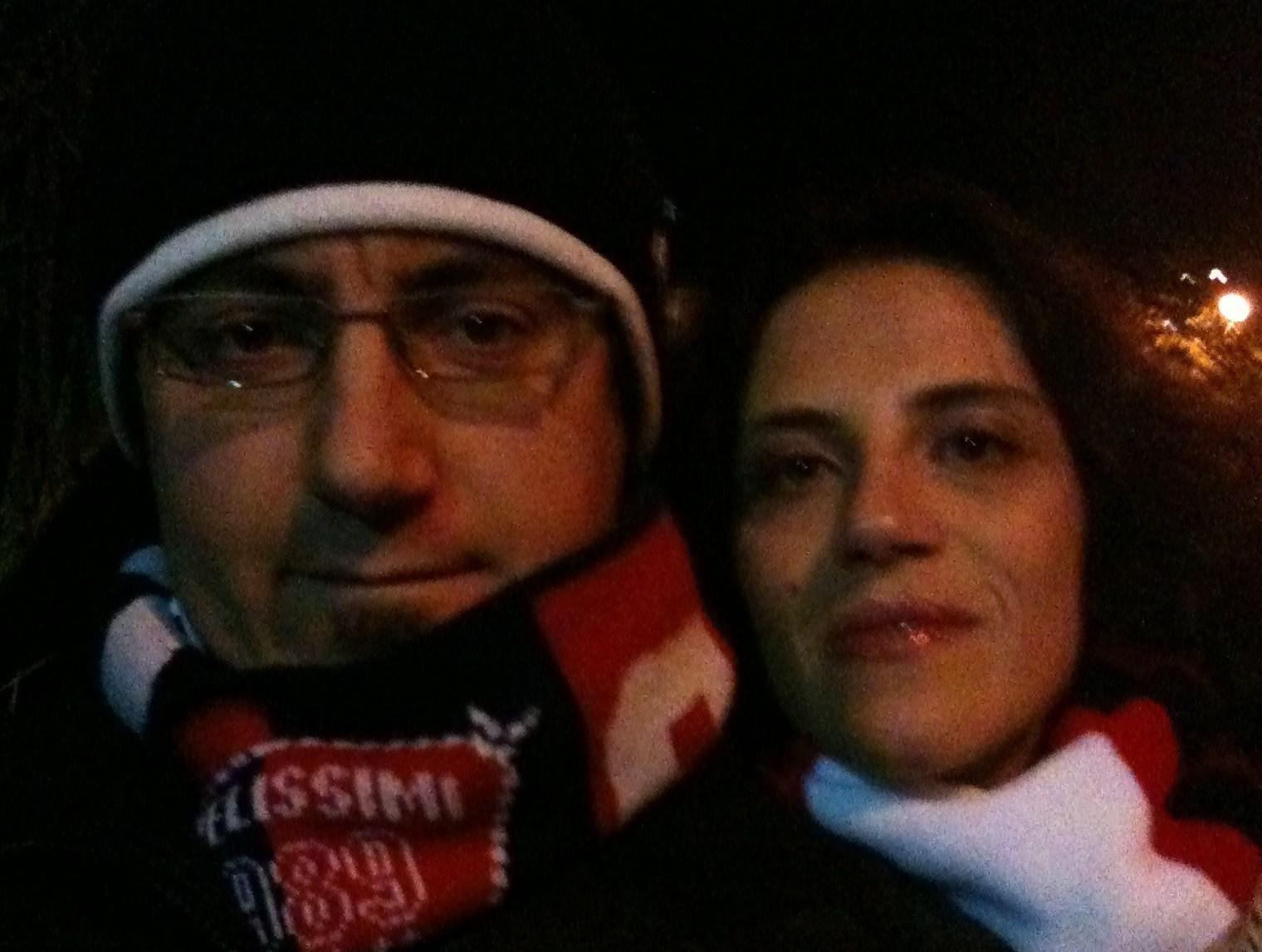 Danilo De Angelis e Chiara Piunti