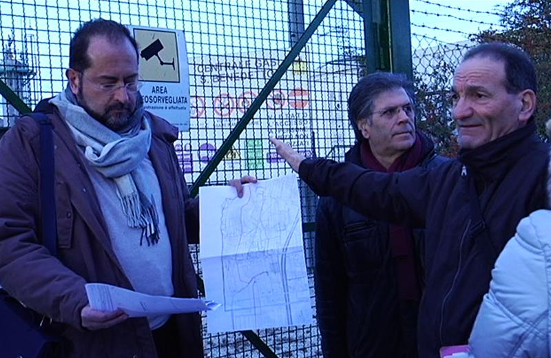 Gas Plus, da sinistra Germano Polidori, Elio Core e Giuseppe Cappelli
