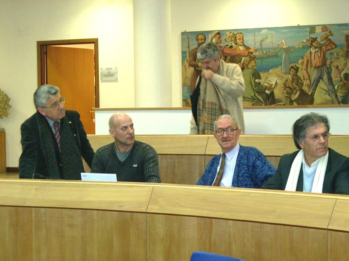 Giorgio Fede, Luciano Calabresi e Elio Core