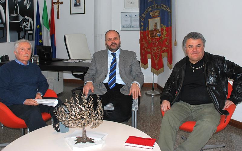Giuseppe Marucci, Giovanni Gaspari, Sandro Rocchetti