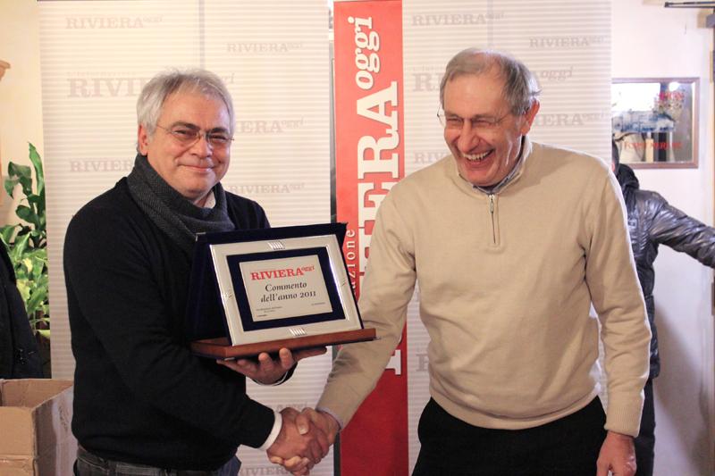 Guido Rossetti premiato con il commento più bello del 2011 da Roberto Raneri