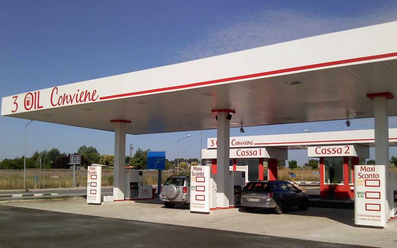 Guidonia, il distributore di 3 Oil conviene