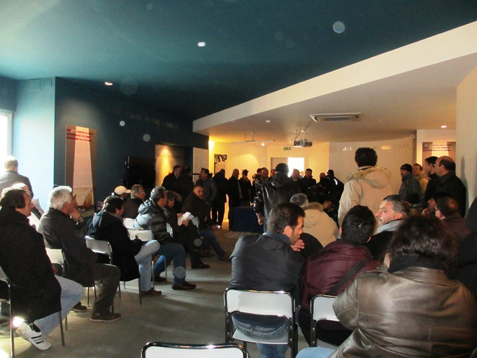 Incontro delegazioni Marinerie Italiane, i pescatori protestano a San Benedetto