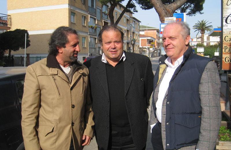 Toni Lattanzi, Gianfranco De Luca e Luigino Fedeli