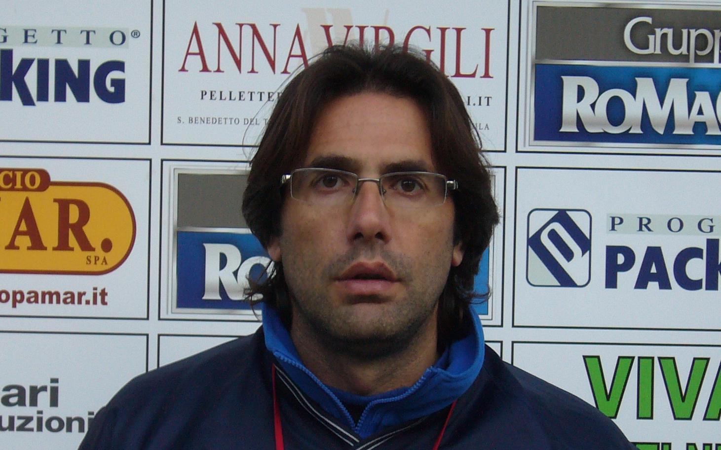 Il tecnico del Grottammare Luigi Zaini