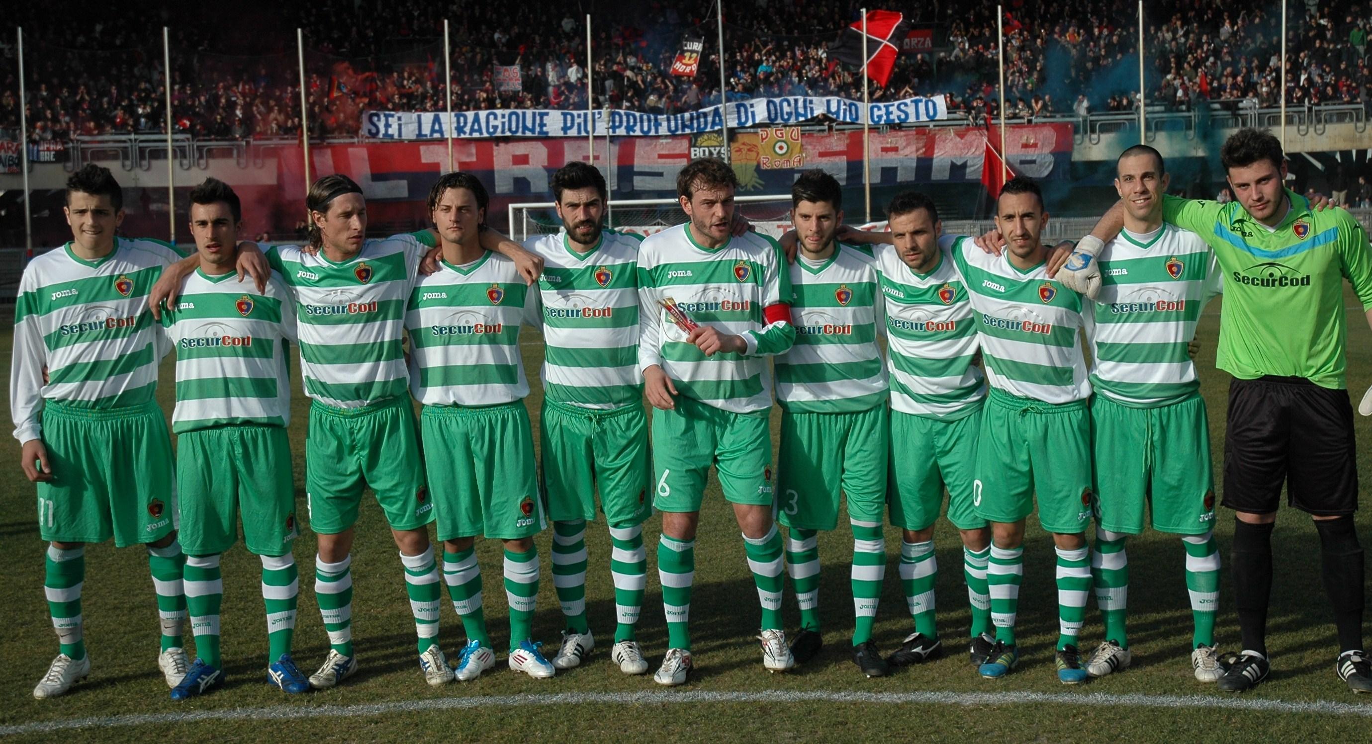La Samb che ha battuto l'Ancona 1-0 Ph. Giammusso ©