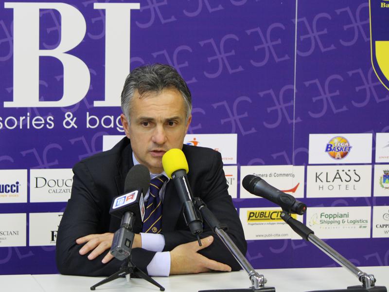 L'allenatore sutorino Giorgio Valli