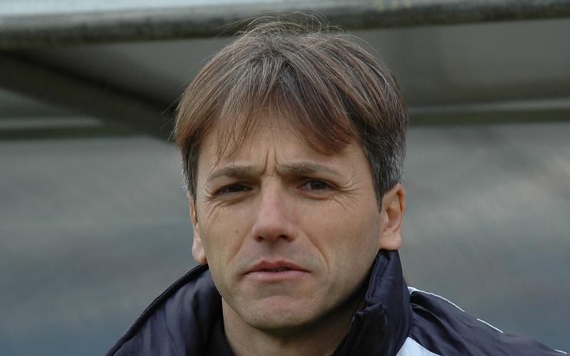 Massimo Agovino, allenatore del Trivento