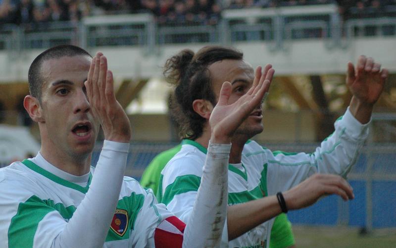 Samb-Ancona 1-0, Carteri e Oretti ph. Giammusso