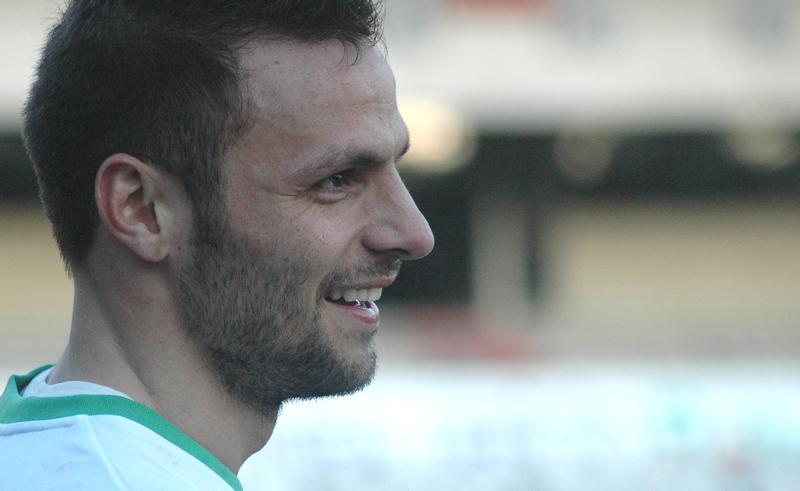 Samb-Ancona, il sorriso di Napolano ph. Giammusso