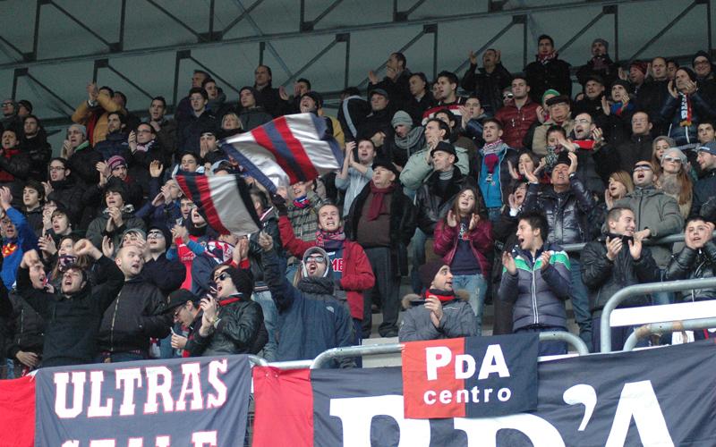 Samb-Atletico Trivento, la curva 3