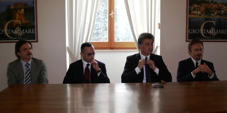 Firma dell'atto conclusivo per la cessione dell'area per la costruzione di Anima
