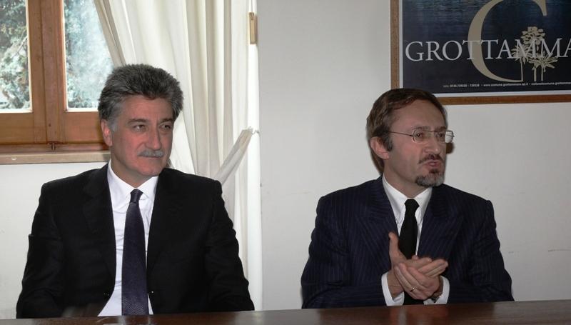 Da sinistra: Luigi Merli, Vincenzo Marini Marini