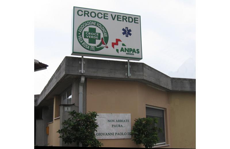 La Croce Verde di Villa Rosa