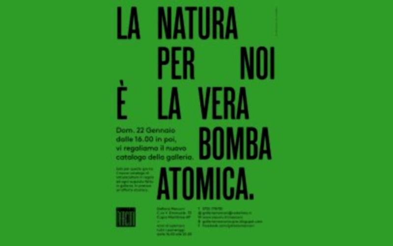 Naturacultura alla Galleria Marconi
