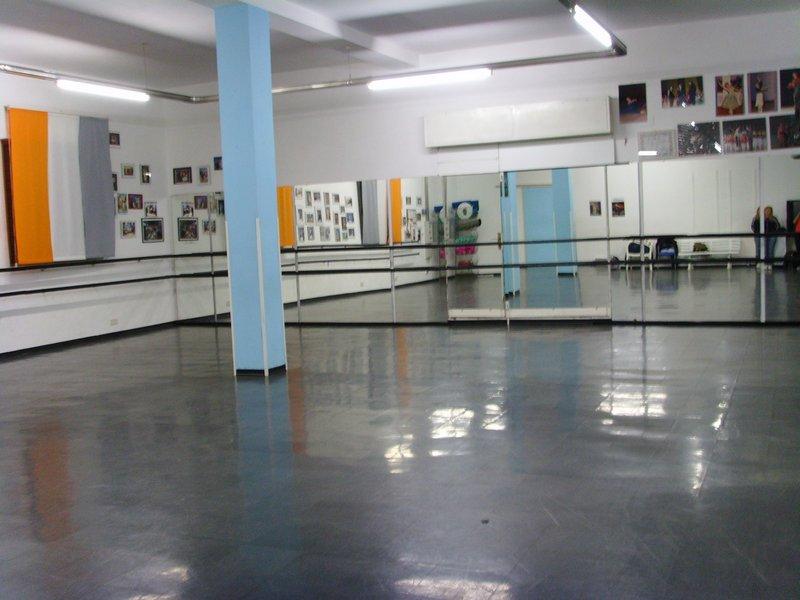 La sala della scuola Cris Dance