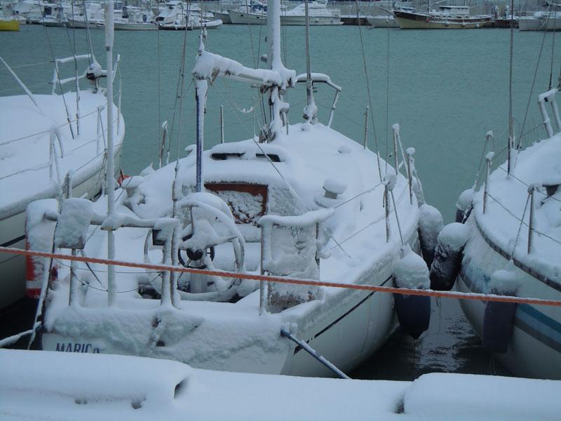 Neve a San Benedetto 4 febbraio 2012