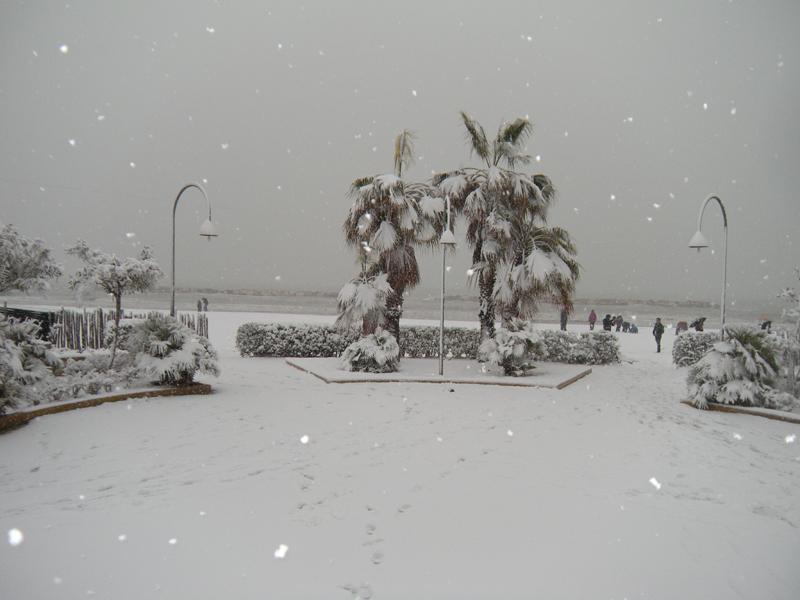 3 febbraio, neve a Martinsicuro 4