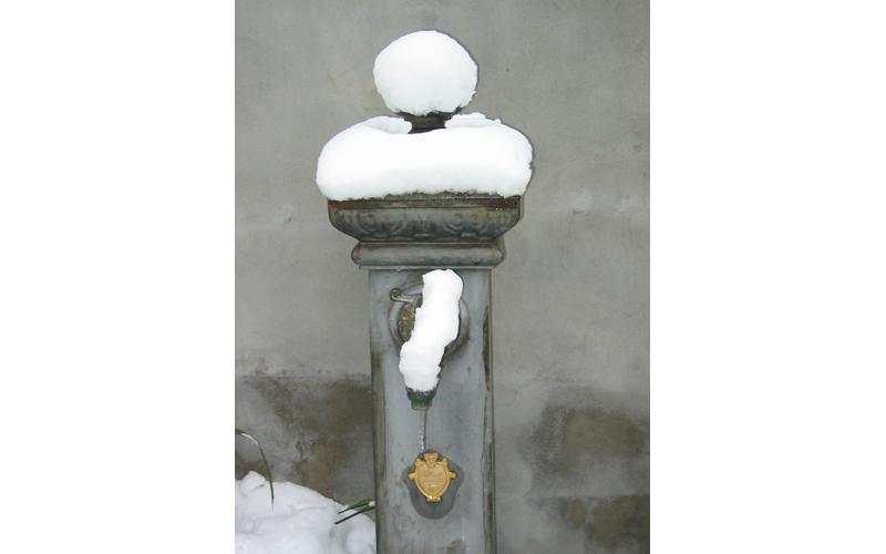 4 febbraio, un rubinetto... un po' nasone, Pietro Aureli