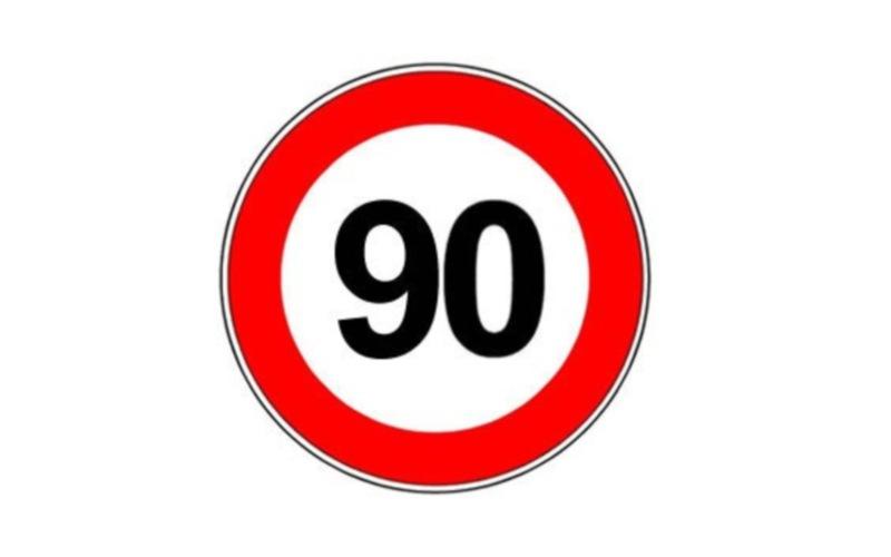 Limite sulla Valtesino: 90 chilometri all'ora