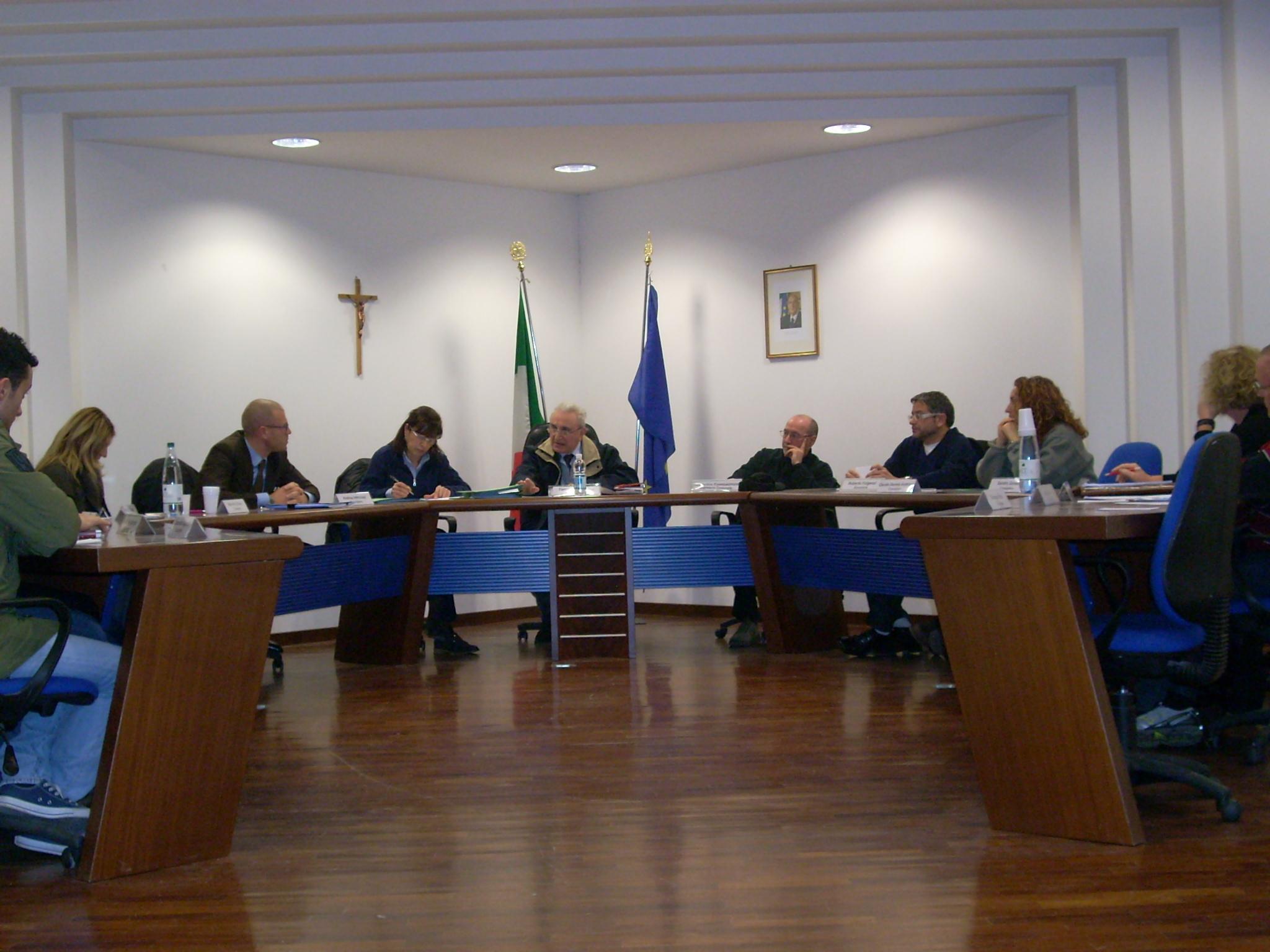 Consiglio comunale Acquaviva (foto d'archivio)