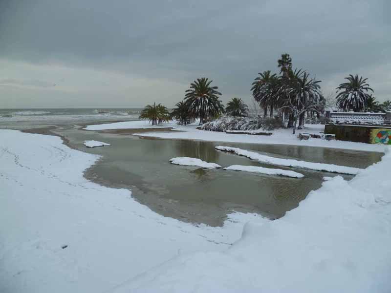 Foto della neve di Francesco Di Biagio, l'albula