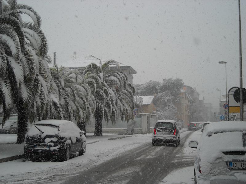 Alfredo Voltattorni, neve v. 4 novembre porto d'ascoli