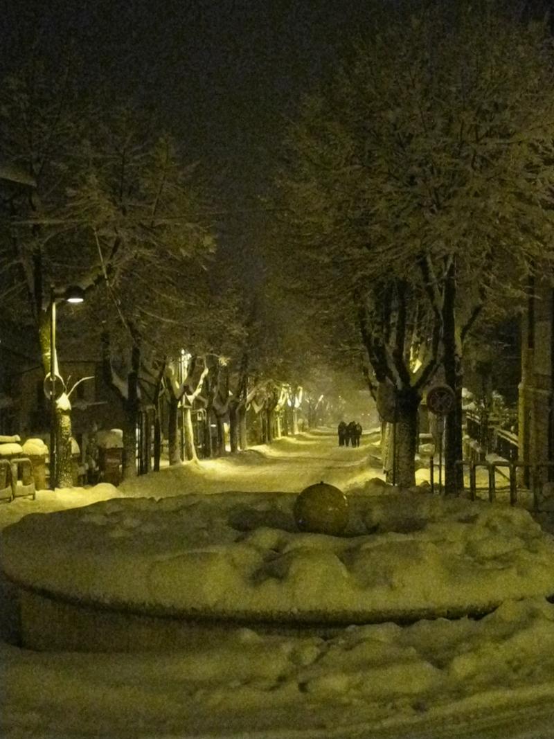 Ancarano 3 febbraio, neve, Simone Marchetti 2