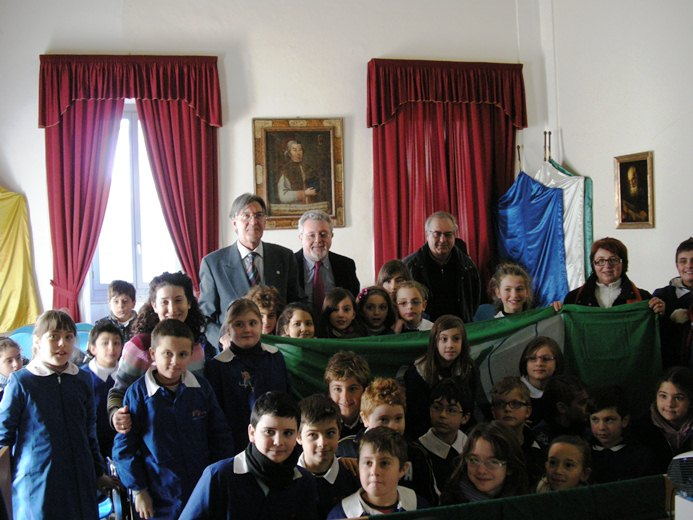 Bandiera verde alle scuole cuprensi  2012