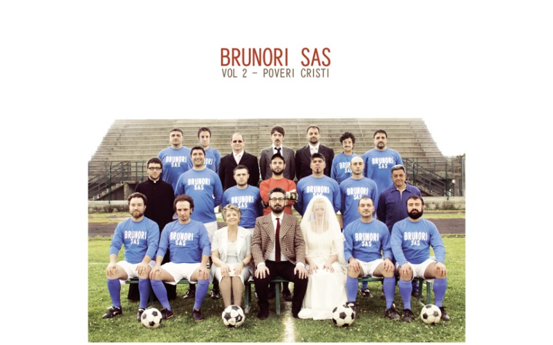Brunori Sas copertina dell'album