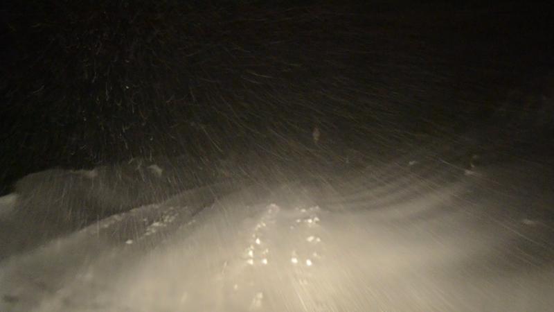 Bufera di neve, Strada Provinciale Cuprense, 10 febbraio 2012