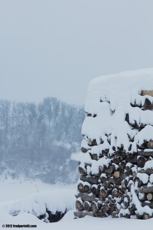 Neve febbraio 2012 Camminata Montefiore, Panorama (Fred Portelli)