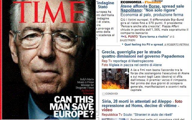 Chi vincerà la battaglia, Monti o la Grecia?
