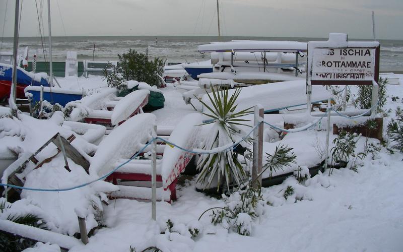 Club Ischia Grottammare,neve, 4 febbraio, Marcello Iezzi