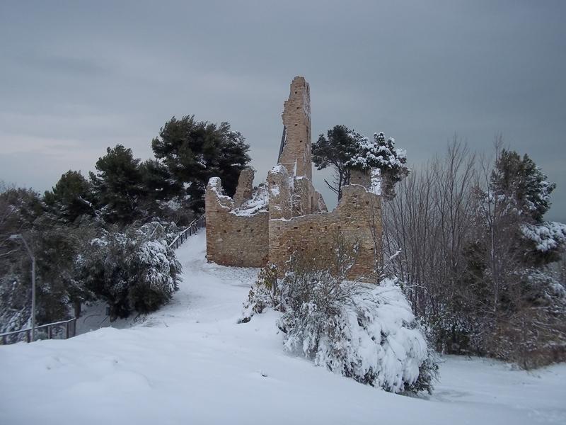 Cupra Marittima-4 febbraio-castello di Sant'Andrea 2 (Nicola)