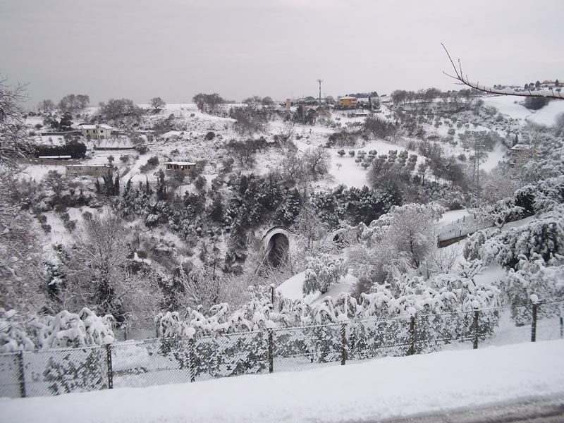Cupra Marittima-4 febbraio-gallerie autostrada (Nicola)