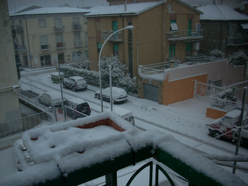 Neve a San Benedetto