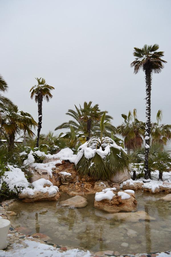 Neve a San Benedetto, 5 febbraio 2012. Foto di Americo Attili