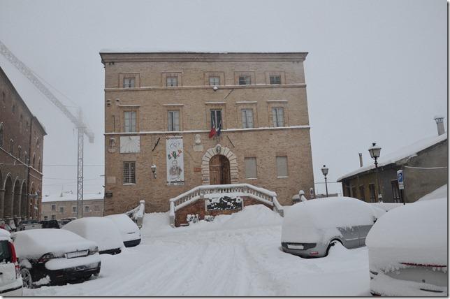 Ripatransone il 5 febbraio 2012. Foto di Marco Lanciotti